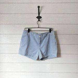 """GAP Seersucker Stretch Shorts 4"""" inseam"""